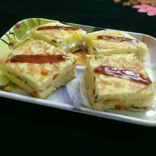 Photo of Bread Omelette by Akum Jamir at BetterButter