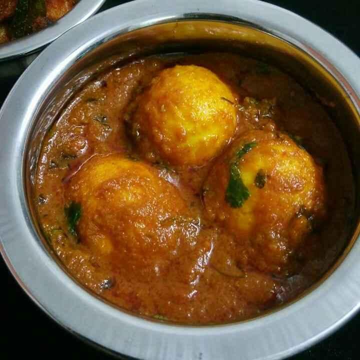 Photo of Egg Curry With Kasuri Methi by Akum Raj Jamir at BetterButter