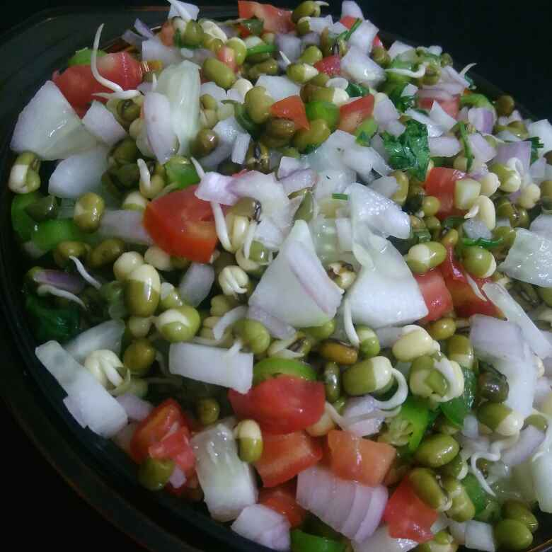 How to make Sprouts And Cucumber salad