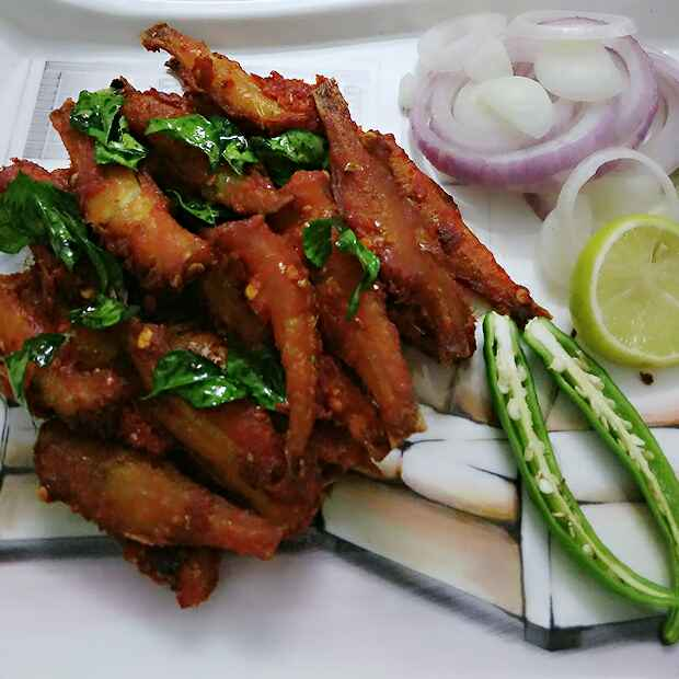How to make Nethili Meen Fry (Anchovies Fish Fry)
