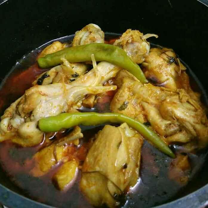 How to make Kasuri Methi Curd Chicken
