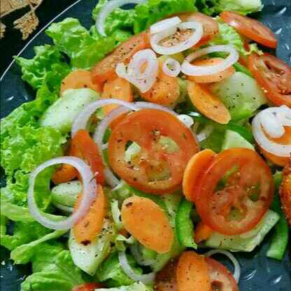 Photo of Veggie Salad by Akum Raj Jamir at BetterButter