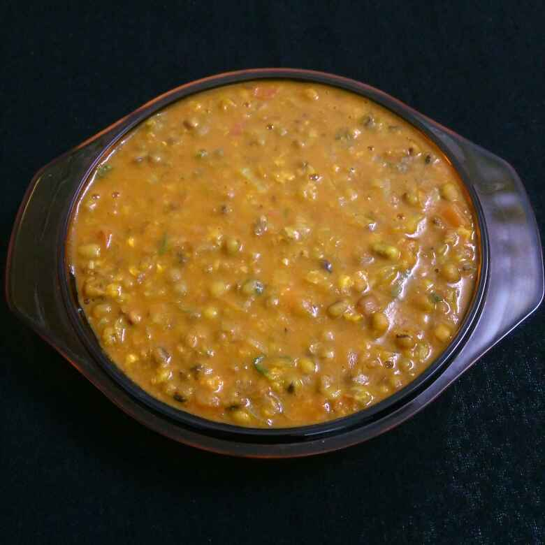 How to make Whole Green Moong Dal