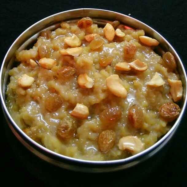 How to make Sakkarai Pongal (Sweet Pongal)