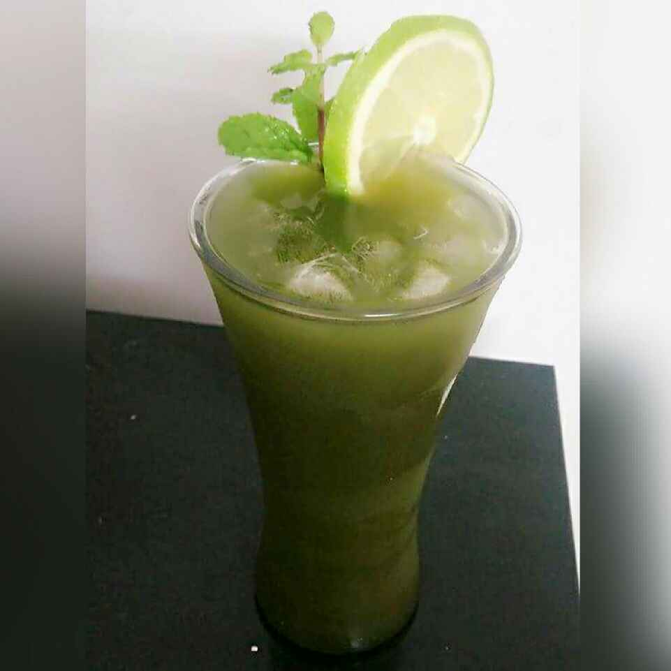 How to make Sweet Lime And Mint Cooler