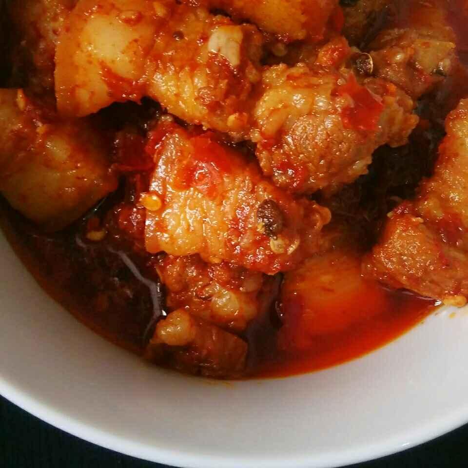 How to make Naga Style Pork Curry