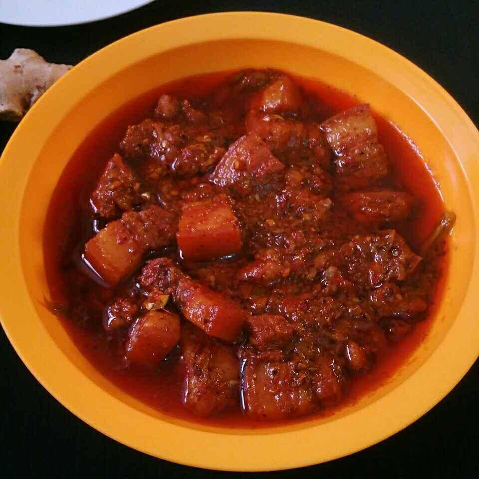 Photo of Pork Vindaloo by Akum Raj Jamir at BetterButter