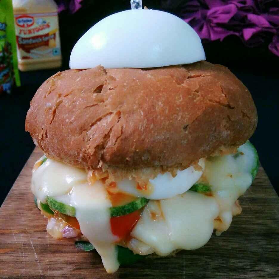 How to make Egg Burger
