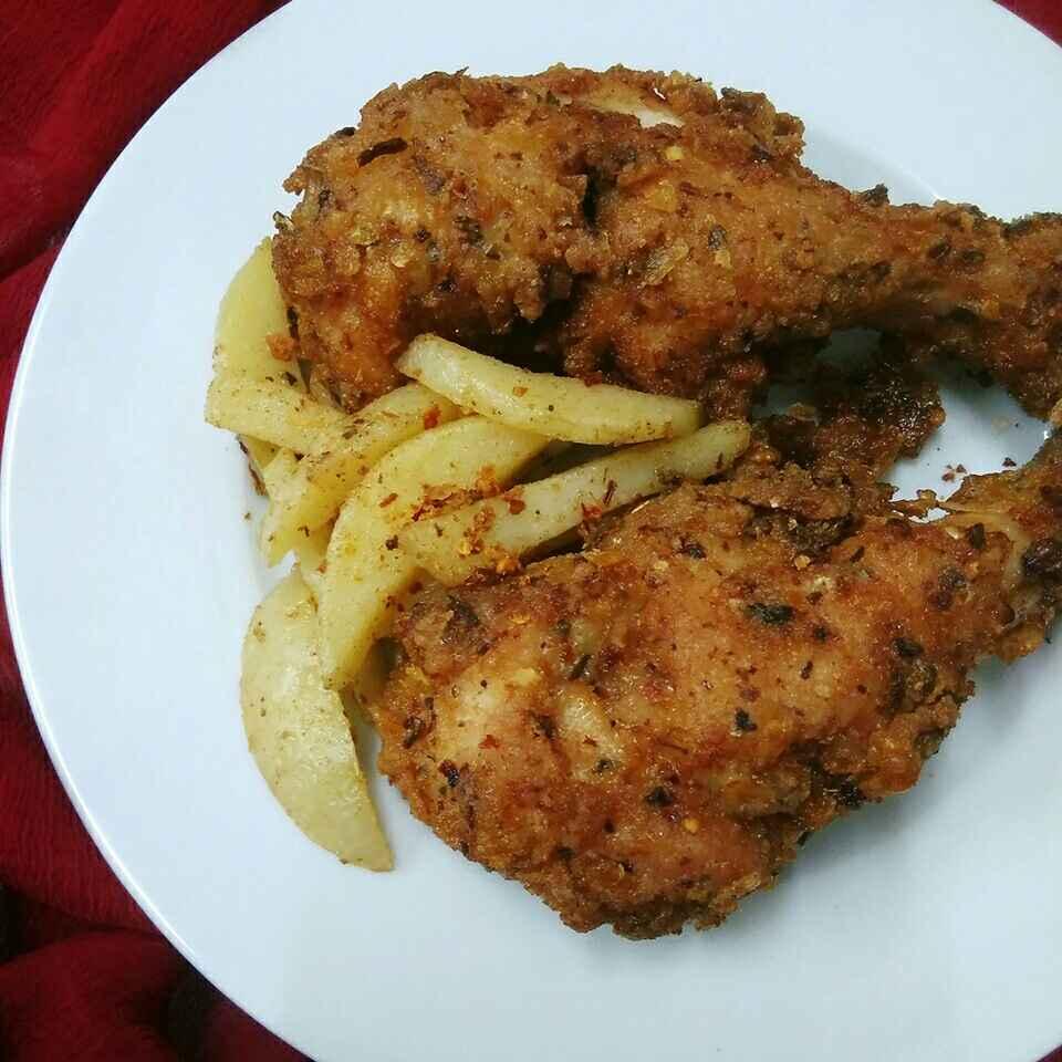 Photo of Spiced Fried Chicken by Akum Raj Jamir at BetterButter