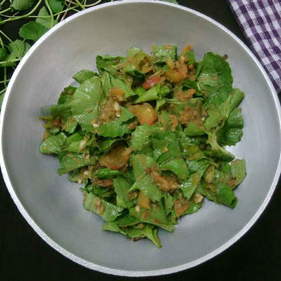 How to make Naga Style Brahmi Leaves Chutney