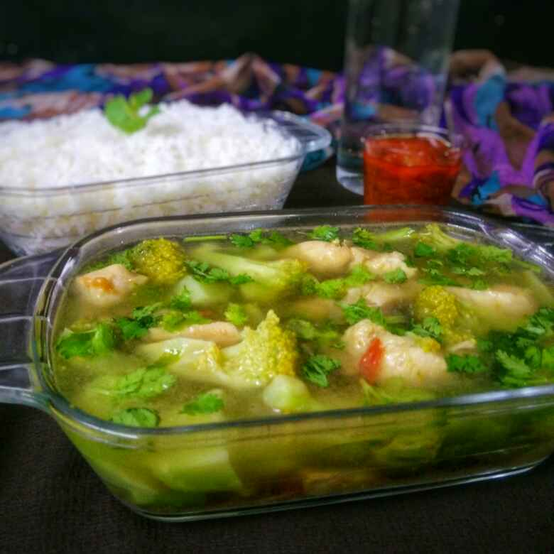 How to make Chicken And Broccoli Stew