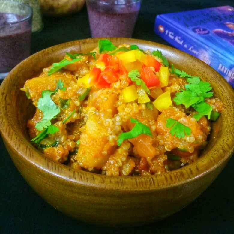 How to make Quinoa And Sweet Potatoes