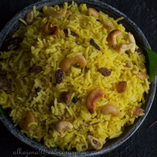 How to make Kanika - Famous Sweet Rice from Orissa