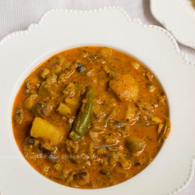 How to make Chatu Besara from Odisha (Mushroom Cooked In Tangy Mustard Paste )