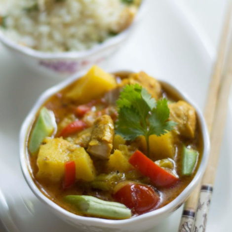How to make Thai Yellow Chicken Curry