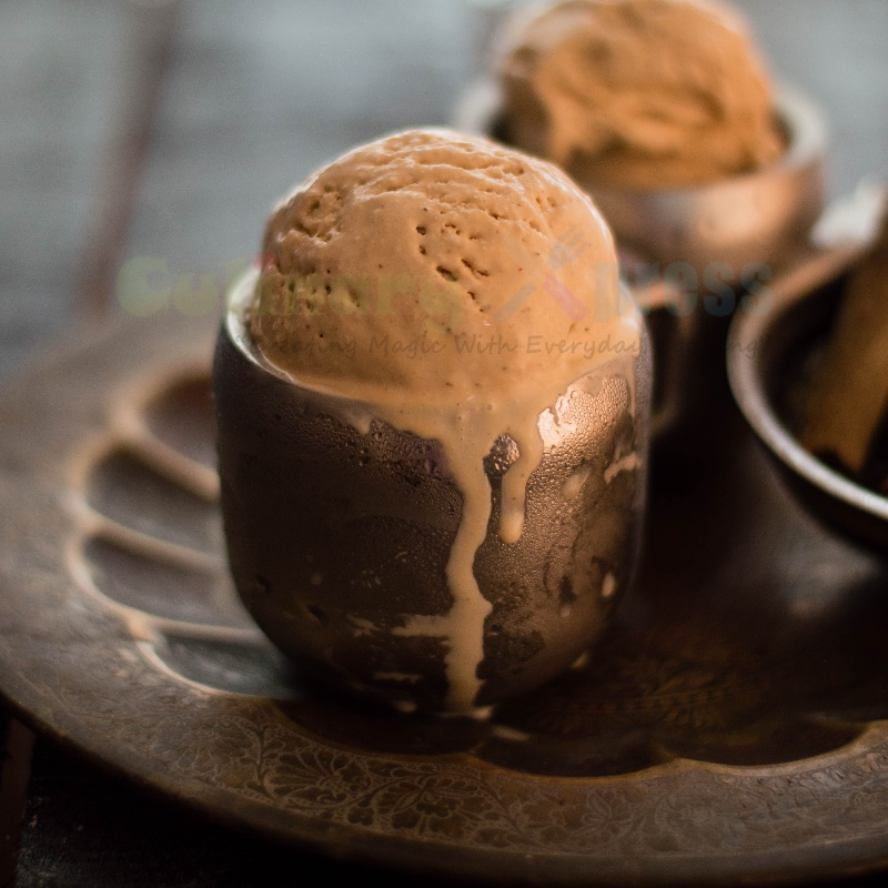 How to make Chai Ice Cream