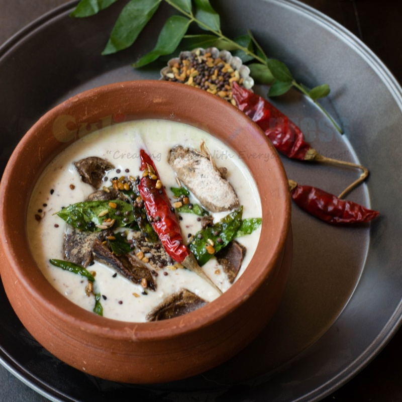 How to make Ambula Rai (Dry Mango Raita) -A popular odia delicacy