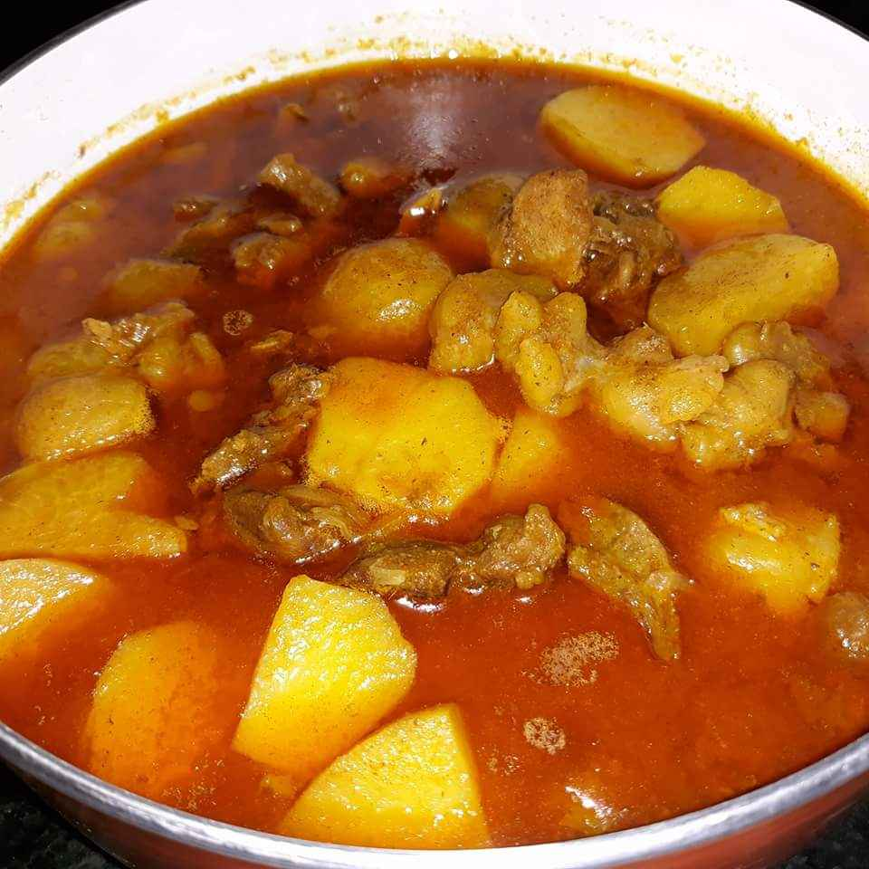 Photo of Potato mutton curry by Alamara Mazumdar at BetterButter