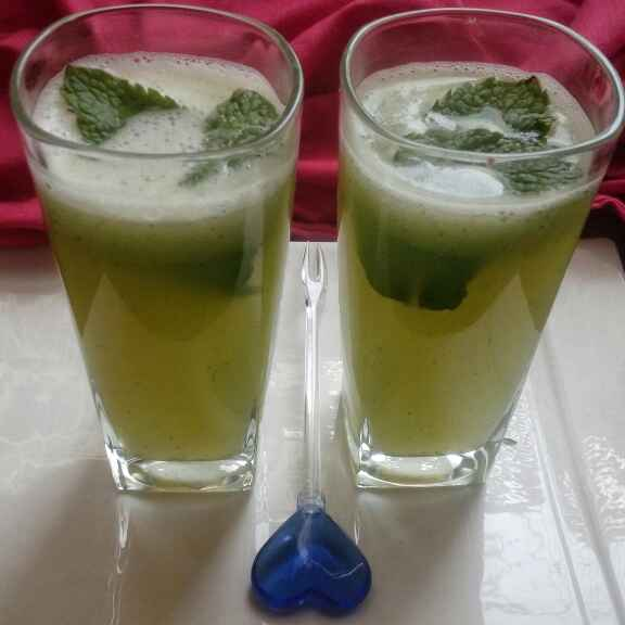 Photo of Cucumber and mint cooler by Alifiya Akil at BetterButter