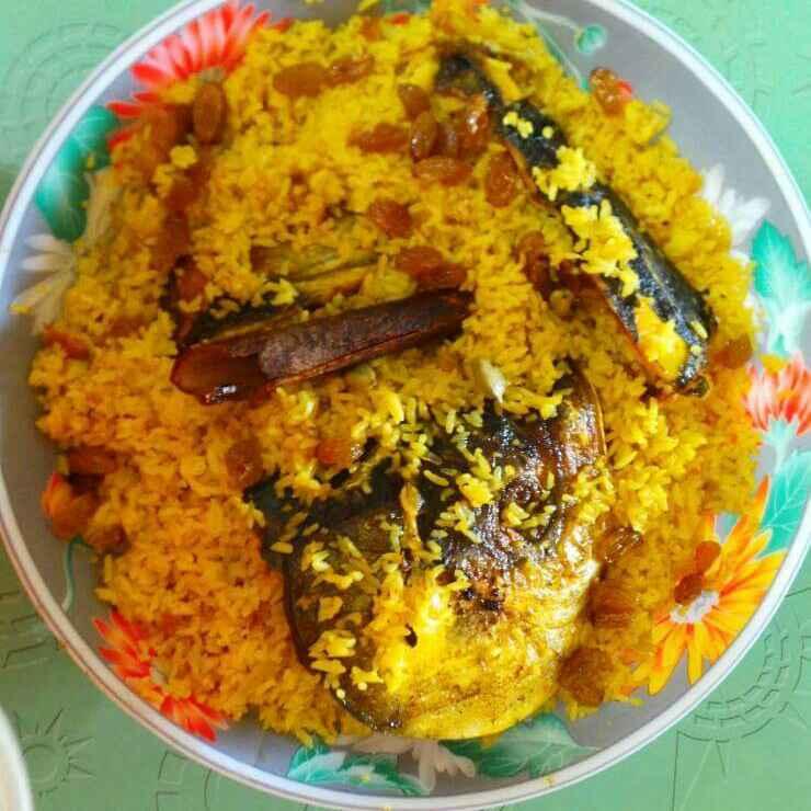 How to make Muro bhat/ Fish head pulao