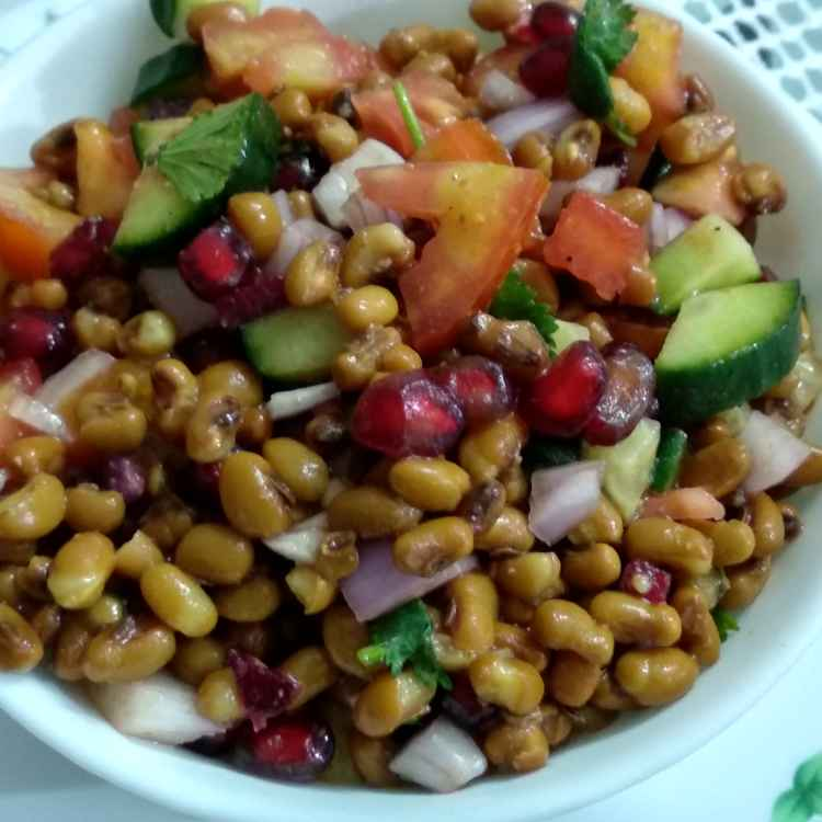 Photo of Lobia salad by Alka Munjal at BetterButter