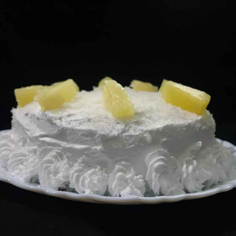 How to make Pineapple coconut cake