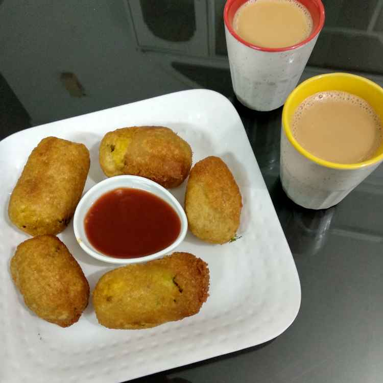 How to make Poha bread rolls