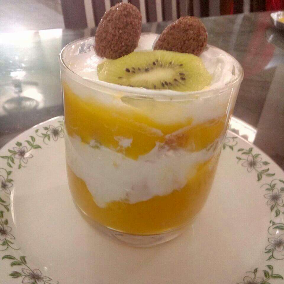 How to make Mango fruit delight
