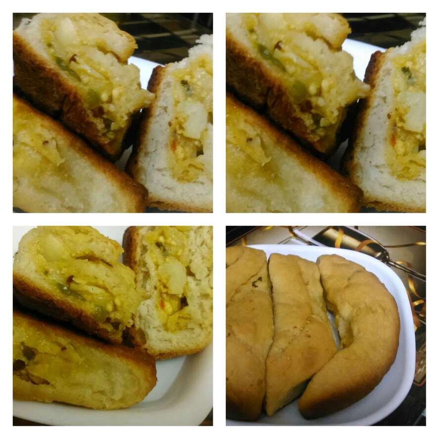 Photo of Stuffed bread buns by Alka Munjal at BetterButter