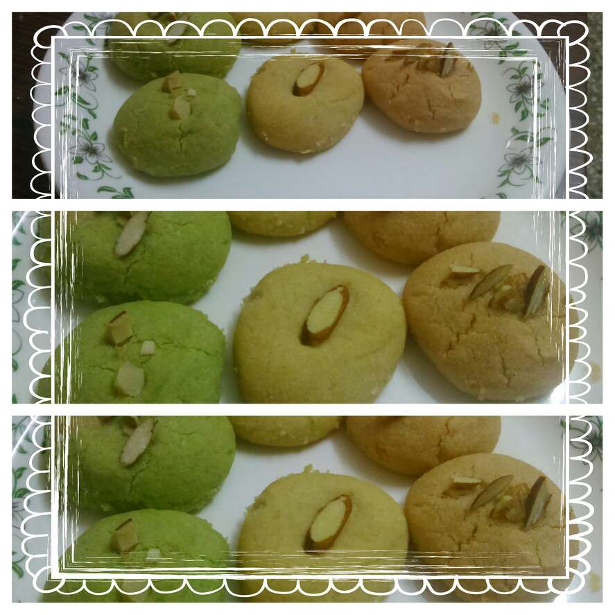 Photo of Tricolour Cookies by Alka Munjal at BetterButter
