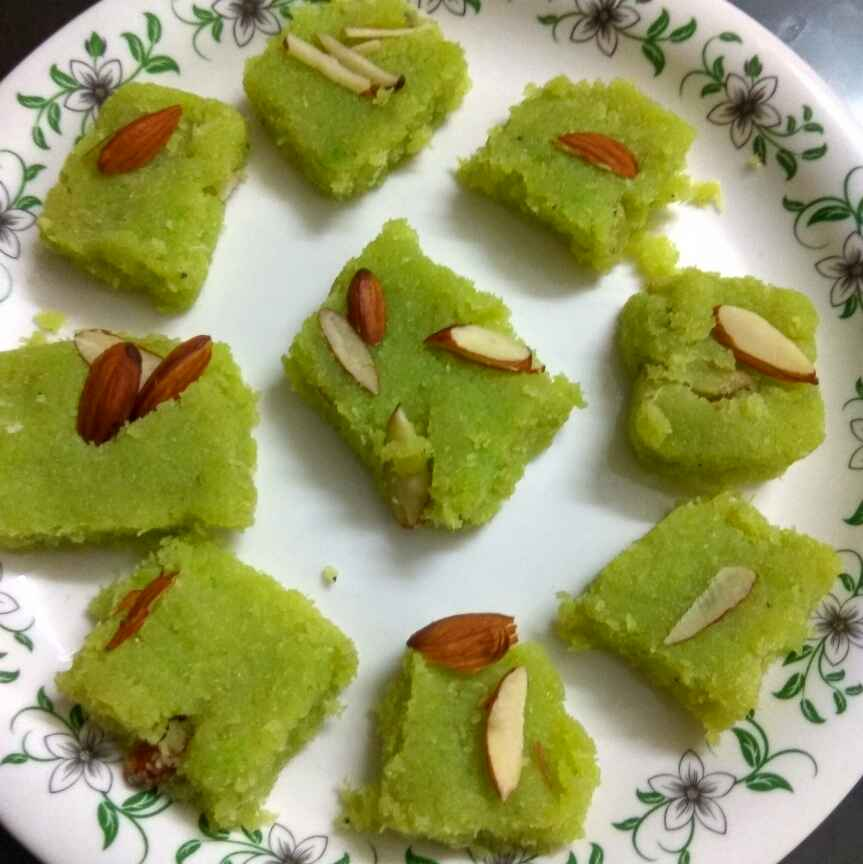 How to make Coconut Burfi