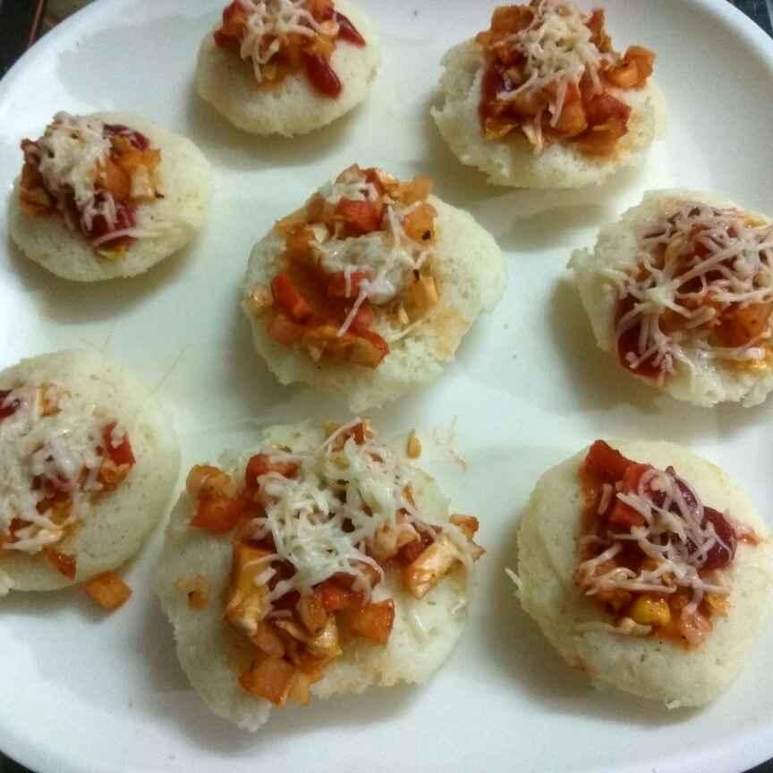 How to make Idli Pizza