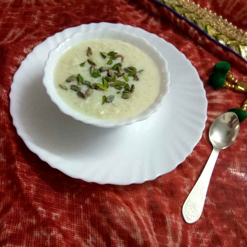 How to make Rice kheer
