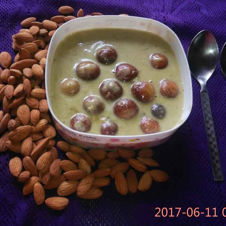 How to make Shahi gulabjamun curry