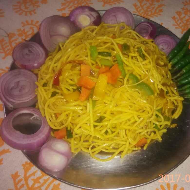 How to make  Chaumin in bhartiya style