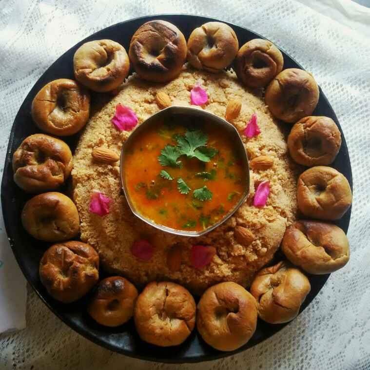Photo of Rajasthani dal bati churma by alka(priyanka) sharma at BetterButter