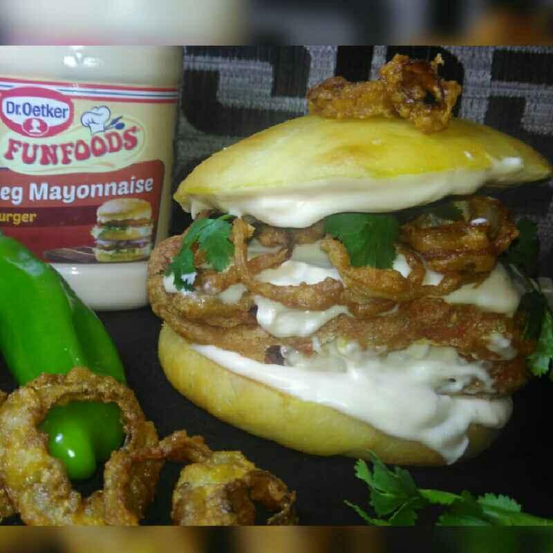 How to make Jalapeno burger(Indian version)
