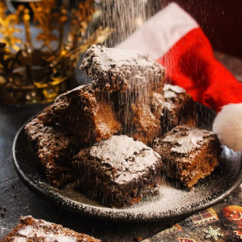 How to make Boozy Christmas Brownies