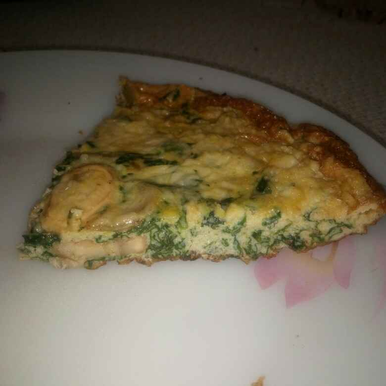 Photo of Spinach and Mushroom Frittata by Aman bindra at BetterButter