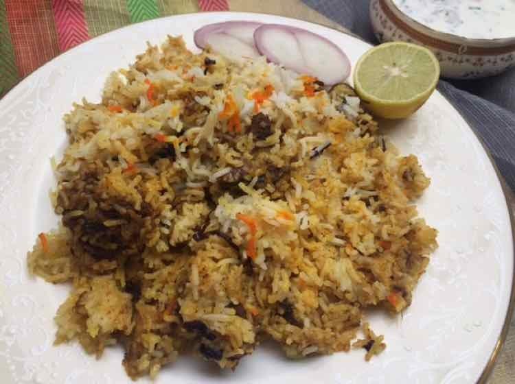 How to make Hyderabadi Mutton Dum Biryani
