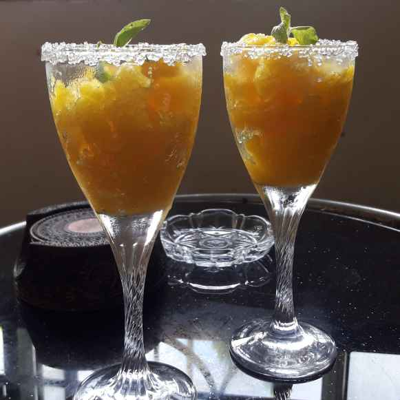 Photo of Mango granita by Ambitious Gopa Dutta at BetterButter