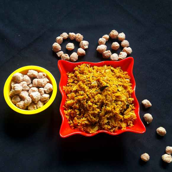 How to make Soya jhuro