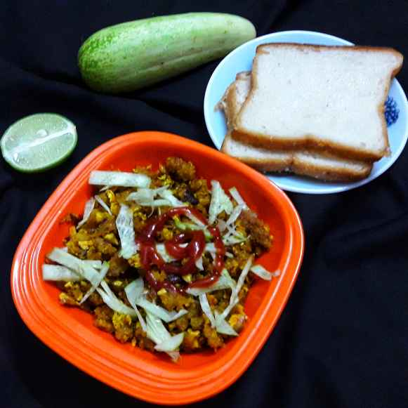 Photo of Scrambled bread by Ambitious Gopa Dutta at BetterButter