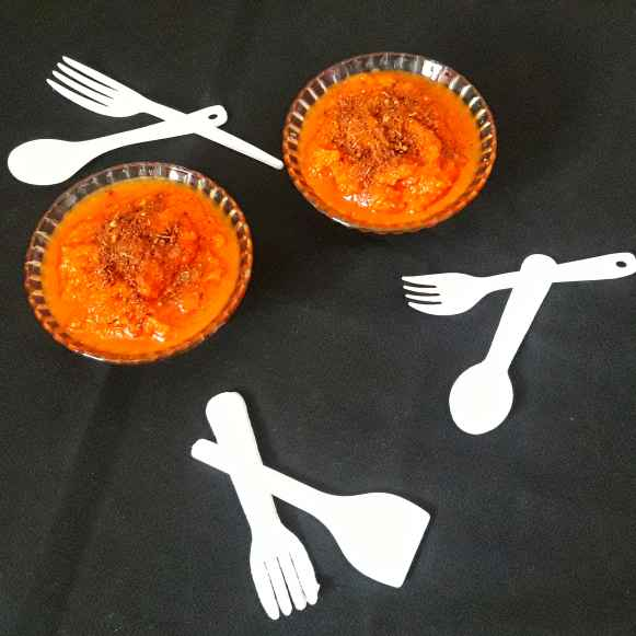How to make টমেটো গাজর মশলা চাটনি