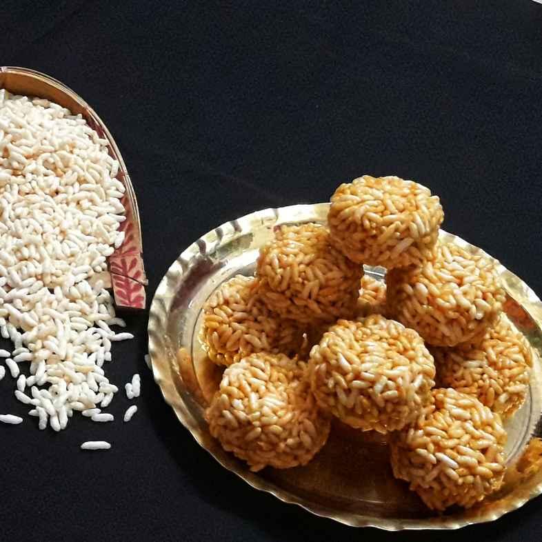 Photo of Puffed rice laddu by Ambitious Gopa Dutta at BetterButter