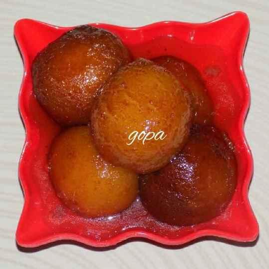 Photo of Milk powder gulab jamun by Ambitious Gopa Dutta at BetterButter