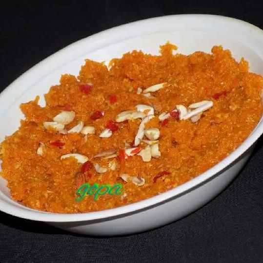 Photo of Carrot halwa by Ambitious Gopa Dutta at BetterButter