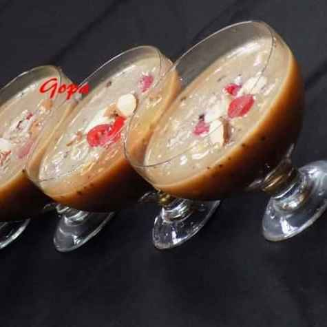 Photo of Milk banana cocoa smoothie by Ambitious Gopa Dutta at BetterButter