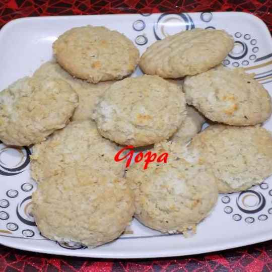Photo of Coconut cookies by Ambitious Gopa Dutta at BetterButter