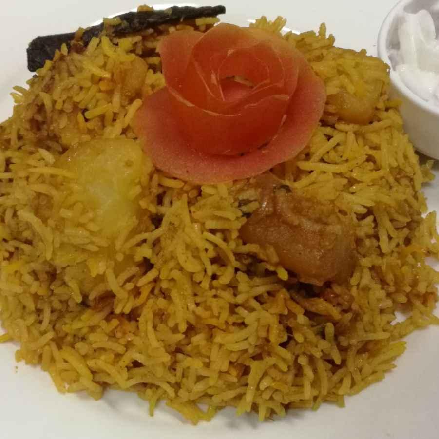 Photo of Potato Biriyani by Ameena Mohideen at BetterButter